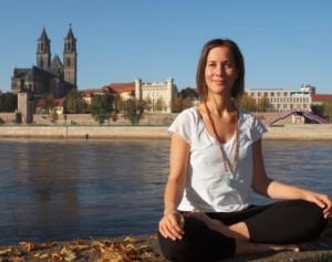 Yogalehrerin Anja Böhm